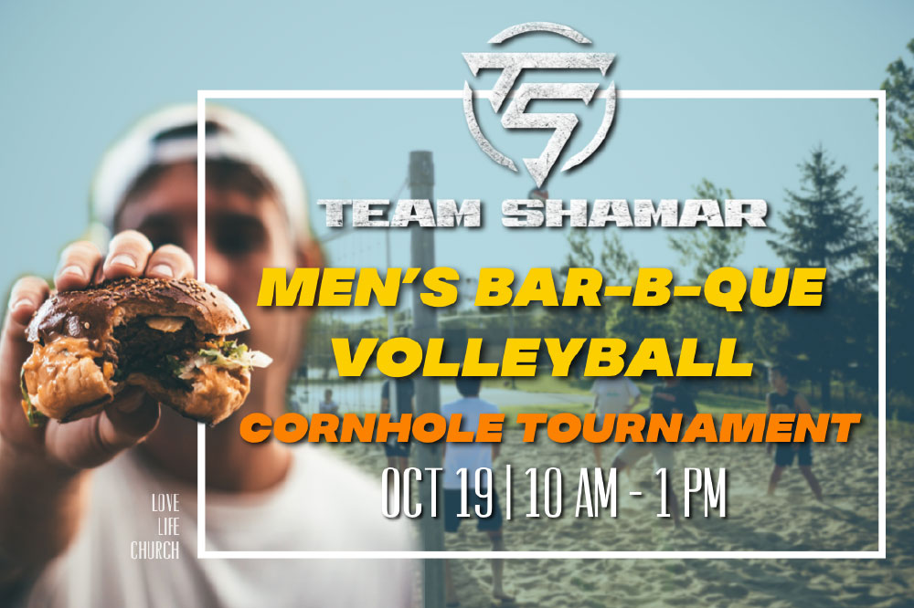 MEN'S EVENT   SATURDAY, OCTOBER 19   10 AM - 1 PM